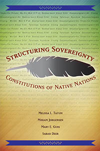 California Sales Tax Los Angeles >> Structuring Sovereignty: Constitutions of Native Nations
